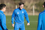 St Johnstone Training…18.11.16<br />Keith Watson pictured during training this morning at McDiarmid Park ahead of tomorrow's game against Ross County<br />Picture by Graeme Hart.<br />Copyright Perthshire Picture Agency<br />Tel: 01738 623350  Mobile: 07990 594431