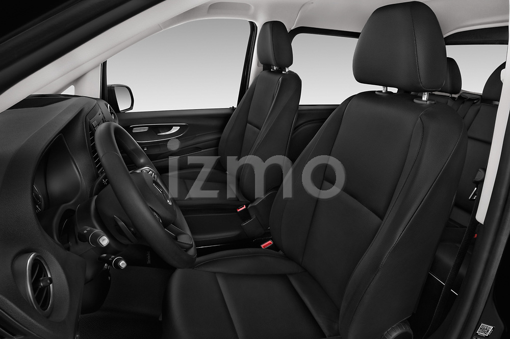 Front seat view of a 2018 Mercedes Benz Vito Mixto Perfect Tool 4 Door Combi front seat car photos