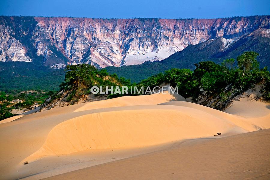 Dunas no Parque Estadual do Jalapão. Tocantins. Foto de Caetano Barreira.