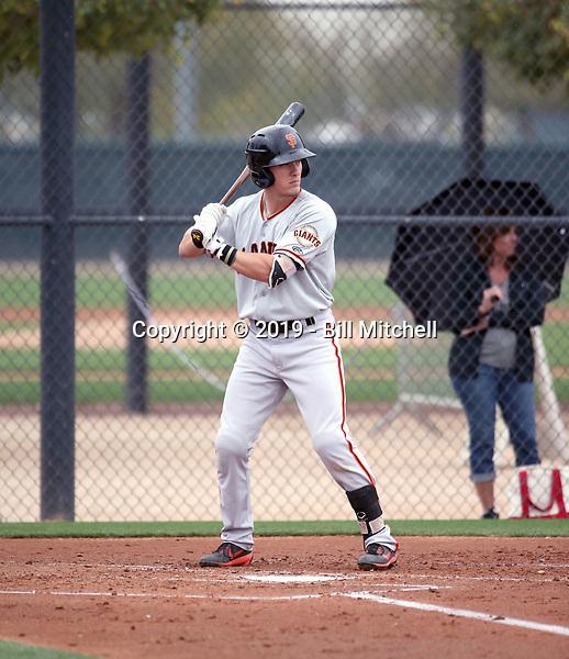 Kyle McPherson - San Francisco Giants 2019 spring training (Bill Mitchell)