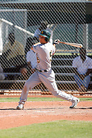 Connor Crumbliss - Oakland Athletics 2009 Instructional League.Photo by:  Bill Mitchell/Four Seam Images..