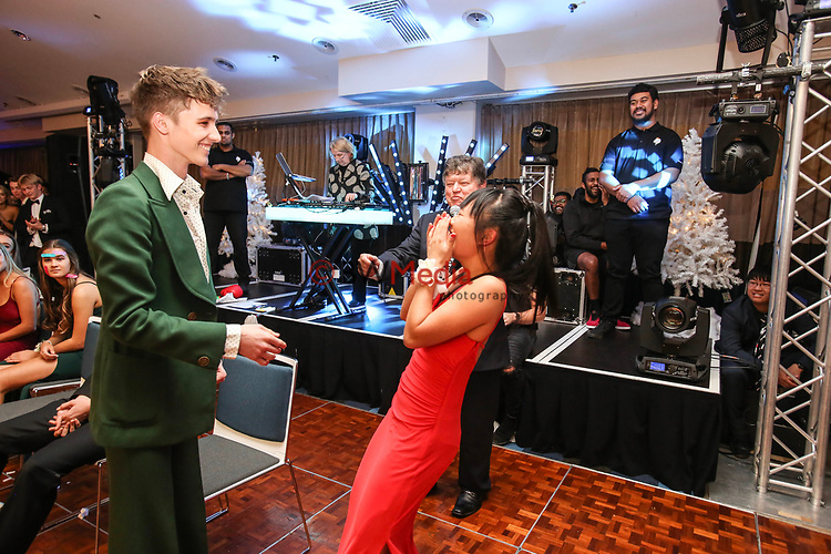 Kings College Winter Ball, Ellerslie Events Centre, Auckland, Saturday 30 June 2018. Photo: Simon Watts/www.bwmedia.co.nz
