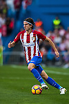 Filipe Luis of Club Atletico de Madrid in action during their La Liga match between Club Atletico de Madrid and Malaga CF at the Estadio Vicente Calderón on 29 October 2016 in Madrid, Spain. Photo by Diego Gonzalez Souto / Power Sport Images