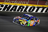 Monster Energy NASCAR Cup Series<br /> Monster Energy NASCAR All-Star Race<br /> Charlotte Motor Speedway, Concord, NC USA<br /> Saturday 20 May 2017<br /> Kyle Busch, Joe Gibbs Racing, M&M's Caramel Toyota Camry celebrates his win<br /> World Copyright: Nigel Kinrade<br /> LAT Images<br /> ref: Digital Image 17CLT1nk06416
