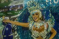 RIO DE JANEIRO (RJ) 29.02.2020 - Carnaval - Rio Escola de samba Beija -Flor no desfile das campeas das escolas de samba do Grupo Especial do Rio de Janeiro neste sabado (29) na Marquues de Sapucai. Destaque Nicole Bahls (Foto: Ellan Lustosa/Codigo 19/Codigo 19)
