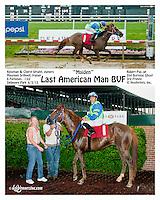 Last American Man BVF winning at Delaware Park on 6/3/13