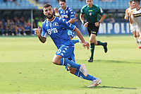 Patrick Cutrone of Empoli FC in action during the Serie A football match between Empoli FC  and Venezia FC at Carlo Castellani stadium in Empoli (Italy), September 11th, 2021. Photo Paolo Nucci / Insidefoto