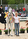 26 April 2010. Courageous Comet and Becky Holder finish 3rd in the Rolex Thre Day Event in Lexington, KY.