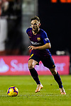 Ivan Rakitic of FC Barcelona in action during the La Liga 2018-19 match between Rayo Vallecano and FC Barcelona at Estadio de Vallecas, on November 03 2018 in Madrid, Spain. Photo by Diego Gouto / Power Sport Images