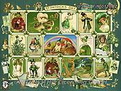 ,LANDSCAPES, LANDSCHAFTEN, PAISAJES, LornaFinchley, paintings+++++,USHCFIN0110AZ,#L#, EVERYDAY ,vintage,stamps,puzzle,puzzles