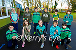 Senior Class students in Ballyfinnane NS looking forward to St Patricks Day on Tuesday. Kneeling l to r: Shane Edwards, Mia Ryan, Rachel Lally, Conor Edwards and Dylan Fitzgerald Back l to r: Seoladh Flynn, Rory McEntee, Ross Lally, Lan O'Connor, Nevin Lyne and Luke Quirke