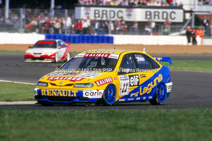 1997 British Touring Car Championship. #22 Jason Plato (GBR). Williams Renault Dealer Racing. Renault Laguna.