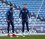 15.02.2019: Rangers training: Wes Foderingham and Allan McGregor