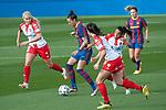 Liga IBERDROLA 2020-2021. Jornada: 10<br /> FC Barcelona vs Santa Teresa: 9-0.<br /> Sini Laaksonen vs Jennifer Hermoso.
