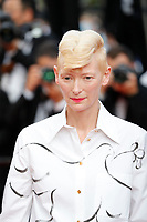 """CANNES, FRANCE - JULY 17: Tilda Swinton at the final screening of """"OSS 117: From Africa With Love"""" and closing ceremony during the 74th annual Cannes Film Festival on July 17, 2021 in Cannes, France. <br /> CAP/GOL<br /> ©GOL/Capital Pictures"""
