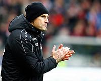 Heiko HERRLICH, Trainer Bayer Leverkusen,  Portraet, Halbkoerper,   , Coachingzone,  Fussball, 1. Bundesliga  2017/2018<br /> <br />  <br /> Football: Germany, 1. Bundesliga, SC Freiburg vs Bayer 04 Leverkusen, Freiburg, 03.02.2018 *** Local Caption *** © pixathlon<br /> Contact: +49-40-22 63 02 60 , info@pixathlon.de