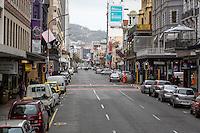 South Africa, Cape Town.  Long Street, City Center.