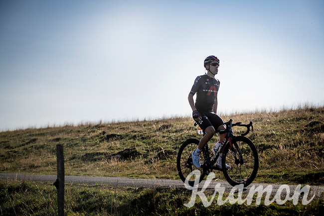 Jonathan Castroviejo (ESP/Ineos Grenadiers) up the Le Grand Colombier final stretch<br /> <br /> Stage 15 Lyon to Grand Colombier (175km)<br /> <br /> 107th Tour de France 2020 (2.UWT)<br /> (the 'postponed edition' held in september)<br /> <br /> ©kramon