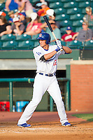 Corey Seager (12) of the Chattanooga Lookouts at bat against the Montgomery Biscuits at AT&T Field on July 24, 2014 in Chattanooga, Tennessee.  The Biscuits defeated the Lookouts 6-4. (Brian Westerholt/Four Seam Images)