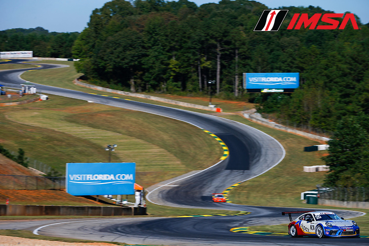 IMSA Porsche GT3 Cup Challenge USA<br /> Road Atlanta<br /> Road Atlanta, Braselton GA<br /> Wednesday 4 October 2017<br /> 56, David Baker, GT3P, USA, M, 2017 Porsche 991<br /> World Copyright: Jake Galstad<br /> LAT Images