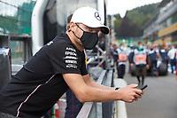 30th August 2020, Spa Francorhamps, Belgium, F1 Grand Prix of Belgium , Race Day;  77 Valtteri Bottas FIN, Mercedes-AMG Petronas Formula One Team pre-race