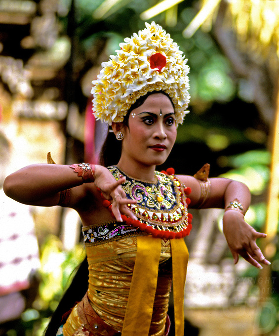 Images from the Book Journey Through Colour and Time,BALINESE DANCER