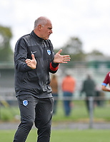head coach Guido Brepoels of Racing Genk pictured during a female soccer game between Club Brugge Dames YLA and Racing Genk Ladies on the second matchday of the 2020 - 2021 season of Belgian Scooore Women s SuperLeague , saturday 5 th of September 2020  in Brugge , Belgium . PHOTO SPORTPIX.BE   SPP   DAVID CATRY