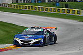 IMSA WeatherTech SportsCar Championship<br /> Continental Tire Road Race Showcase<br /> Road America, Elkhart Lake, WI USA<br /> Sunday 6 August 2017<br /> 93, Acura, Acura NSX, GTD, Andy Lally, Katherine Legge<br /> World Copyright: Richard Dole<br /> LAT Images<br /> ref: Digital Image RD_RA_2017_188