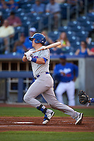 Midland RockHounds third baseman Ryon Healy (25) at bat during a game against the Tulsa Drillers on June 2, 2015 at Oneok Field in Tulsa, Oklahoma.  Midland defeated Tulsa 6-5.  (Mike Janes/Four Seam Images)
