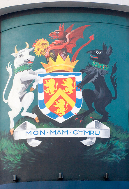 Coat of Arms, Exterior, Anglesea Arms Restaurant, London, England