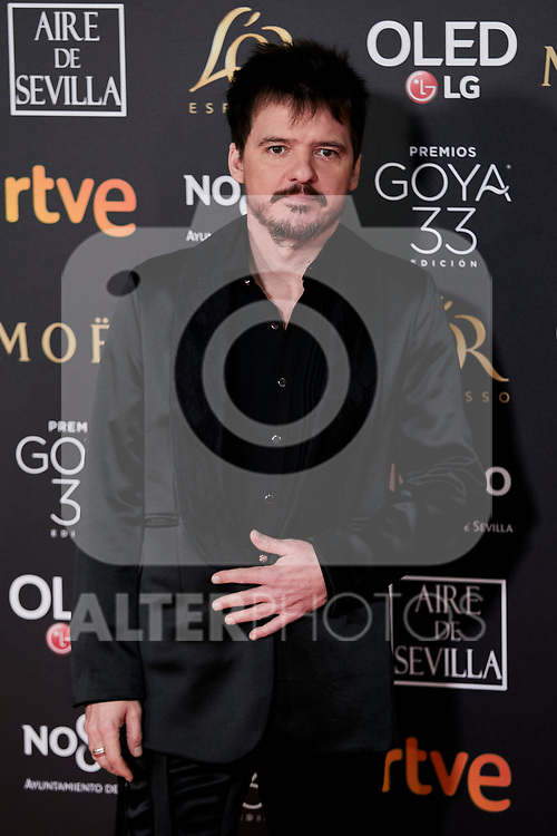 Coque Maya attends to 33rd Goya Awards at Fibes - Conference and Exhibition  in Seville, Spain. February 02, 2019. (ALTERPHOTOS/A. Perez Meca)