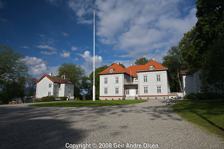 Eidsvoll building, the mansion where Norway declared independence from Denmark and singed the constitution at May 17th 1814.