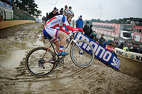 Pauline Ferrand-Prevot (FRA/Rabobank-Liv)<br /> <br /> Zolder CX UCI World Cup 2014