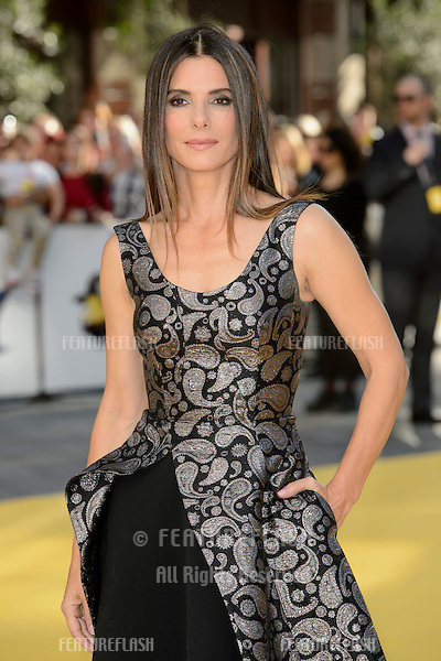 """Sandra Bullock at the world premiere of """"Minions"""" at the Odeon, Leicester Square, London.<br /> June 11, 2015  London, UK<br /> Picture: Dave Norton / Featureflash"""