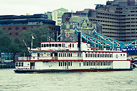 Paddle Steamer on the Thames
