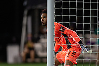 LAKE BUENA VISTA, FL - AUGUST 06: Pedro Gallese #1 of Orlando City SC waits for the corner kick during a game between Orlando City SC and Minnesota United FC at ESPN Wide World of Sports on August 06, 2020 in Lake Buena Vista, Florida.