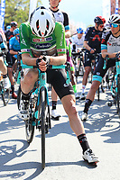 22nd April 2021;  Cycling Tour des Alpes Stage 4, Naturns/Naturno to Pieve di Bono, Italy on 22nd; Simon Yates Team BikeExchange who held onto the tour leaders jersey at the start