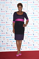 Denise Lewis<br /> arriving for the Women of the Year Awards 2018 and the Hotel Intercontinental London<br /> <br /> ©Ash Knotek  D3443  15/10/2018