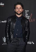 Jack Falahee @ the 'How To Get Away With Murder' Season 3 Premiere held @ the Grove Pacific theatre. September 20, 2016