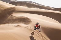 5th January 2021; Dakar Rally stage 3; 01 Brabec Ricky (usa), Honda, Monster Energy Honda Team 2021, Motul, Moto, Bike, action during the 3rd stage of the Dakar 2021 between Wadi Al Dawasir and Wadi Al Dawasir, in Saudi Arabia on January 5, 2021