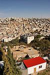Judea, Hebron Mountain. The settlement in Tel Rumeida