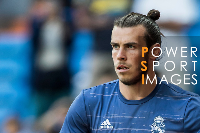 Gareth Bale of Real Madrid in training prior to the La Liga match between Real Madrid CF and SD Eibar at the Santiago Bernabéu Stadium on 02 October 2016 in Madrid, Spain. Photo by Diego Gonzalez Souto / Power Sport Images