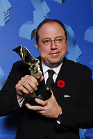 "21st Gemini Awards, Richmond, BC, November 4, 2006, Brett Butt, Gemini Award winner for Best Comedy Program or Series for ""Corner Gas""(CNW Group/Academy of Canadian Cinema & Television)"