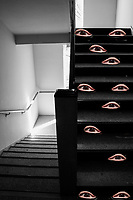 Flight of stairs.  Flight of stares.
