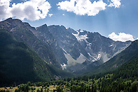 The Alps. <br /> <br /> Stage 18: Embrun to Valloire (208km)<br /> 106th Tour de France 2019 (2.UWT)<br /> <br /> ©kramon