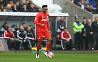 Daniel Sturridge of Liverpool during the Barclays Premier League match between Swansea City and Liverpool played at the Liberty Stadium, Swansea on 1st May 2016