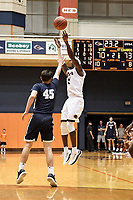 SAN ANTONIO, TX - NOVEMBER 7, 2018: The University of Texas at San Antonio Roadrunners drop their season opener 77-76 to the St. Edward's University Hilltoppers at the UTSA Convocation Center. (Photo by Jeff Huehn)