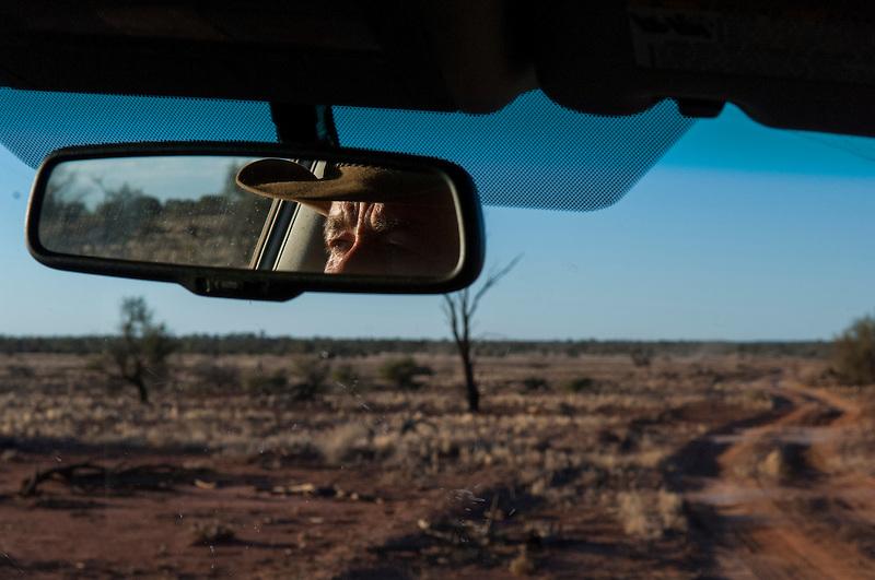 Camel catcher, Australian desert, Central Australia, Northern Territory, Australia.
