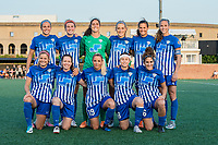 Boston, MA - Friday August 04, 2017: Boston Breakers starting eleven during a regular season National Women's Soccer League (NWSL) match between the Boston Breakers and FC Kansas City at Jordan Field.