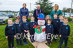 O'Brennan NS launch their 'Crenn dó Chais' Tree of Hope at the school on Monday.<br /> Front l to r: Suzanna Nowicki, Zoe Conroy, Rian King, Roisin Hogan, Mason O'Brien, Cara Whelan, Oisin Brick, Oisin Leen and Kaylen Barry. Back l to r: Mary Slattery (Deputy Principal), Fr Gearoid Walsh and Michelle O'Brien (Principal).